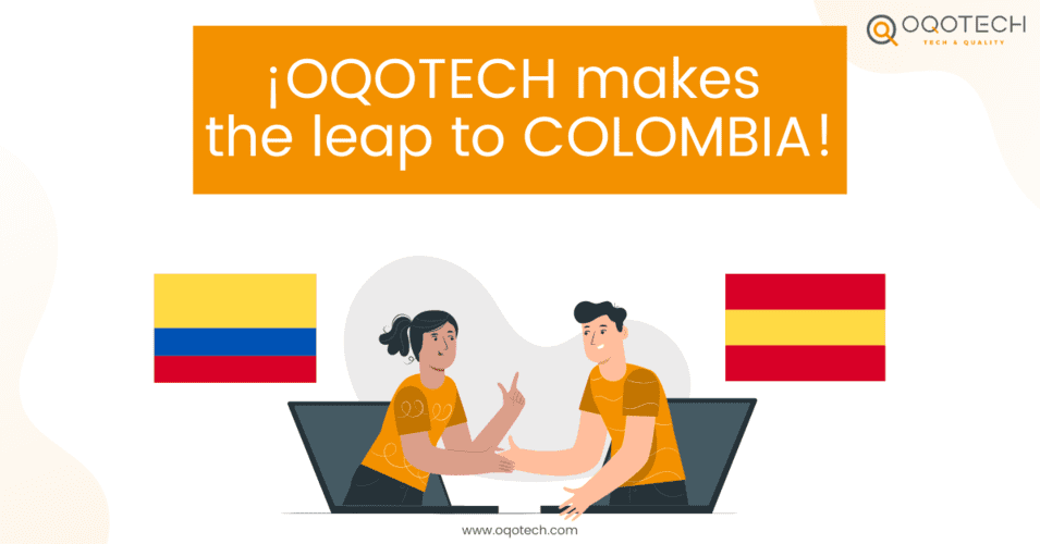 OQOTECH makes the leap to COLOMBIA