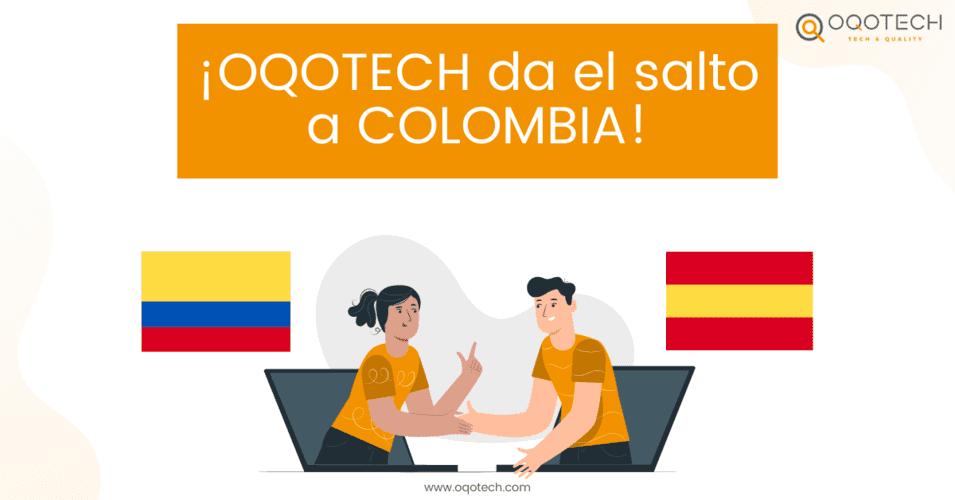Oqotech da el salto a Colombia